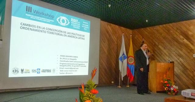 Cambios en la concepción de las políticas de ordenamiento territorial en América Latina, Bogotá (Colombia)