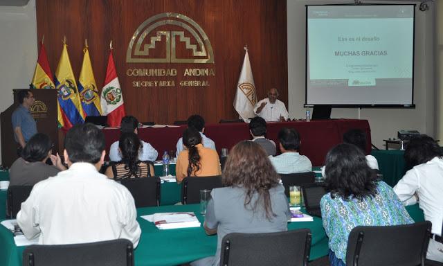 Taller sobre zonificación y planificación territorial para integrar la biodiversidad en el ordenamiento territorial de la región andino amazónica, Lima (Perú)
